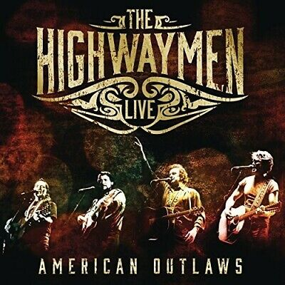 Highwaymen American Outlaws 3 CD & DVD All Regions NTSC 5.1 surround NEW