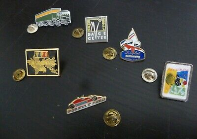 pin's lot de 6 pin's divers