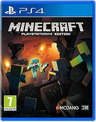Minecraft PS4 brand new official sealed