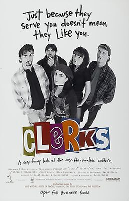 Clerks movie poster - Kevin Smith - 11 x 17 inches