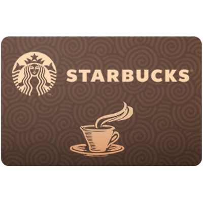 Starbucks Gift Card $50 Value, Only $48.05! Free Shipping!