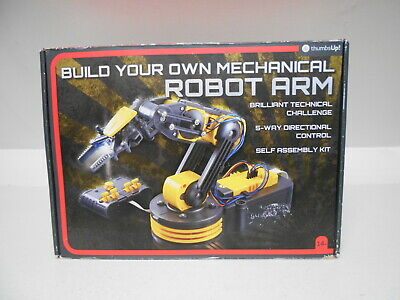Thumbs Up Educational Mechanical Robot Arm Kit With 5 Motors Free Uk Postage