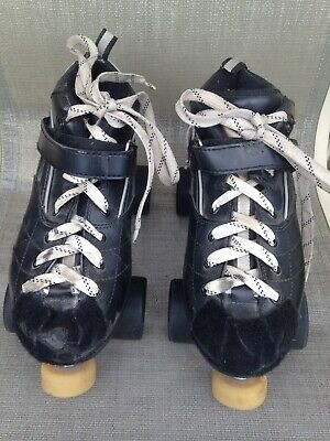 Women's Rock GT-50 Speed Roller Skates With Carrera Sure Grip Wheels. Sz 9