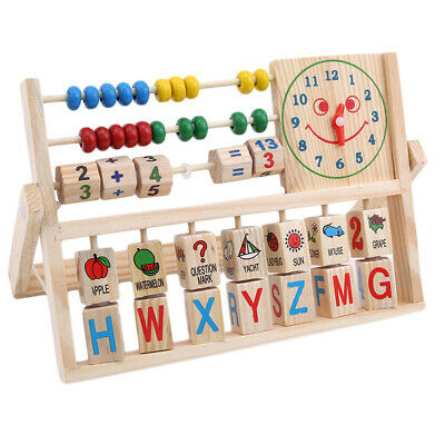 Counting Board Kids Toys Educational Learning Math Count Digital Shape Toys W