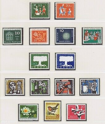 Germany - 1957 Complete Year Set