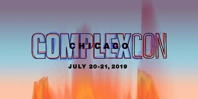 Complexcon Chicago Vip Weekend Passes 2019