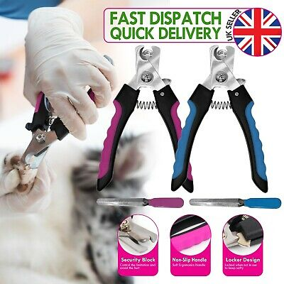 Pet Dog Cat Nail paw Claw Clippers scissors Trimmer, Pet Grooming Nail File Kit