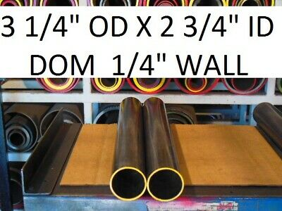 "E0250  Dom Round Steel Tube  3.250 Od  X   2.750 Id  (.250 Wall)   36""  Long"