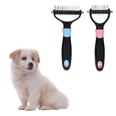Professional Pet Double-sided Open Knot Rakes Comb Brush Dog Grooming Trimmer
