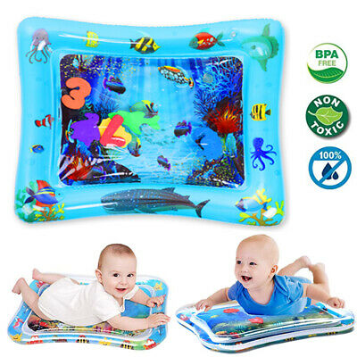 Inflatable Baby Kid Water Play Cartoon Mat for Kids Baby Infants Best Tummy Time