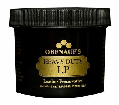 Obenauf's Heavy Duty LP 4oz - Preserves and Protects Leather - Made in the USA