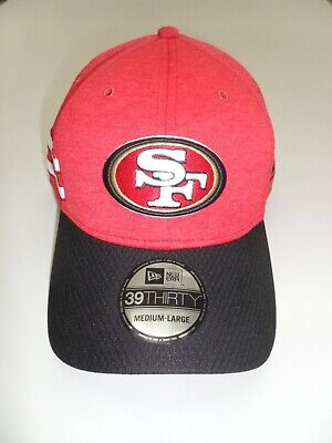 10f162b1 SAN FRANCISCO 49ERS New Era Sideline Official 39Thirty Flex Hat ...