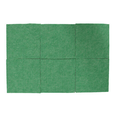 6pcs Soundproofing Acoustic Panels for Studio Room Acoustic Treatment Green