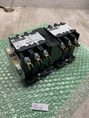 MINT! SQUARE D 8965DPR33 Reversing Hoist Contactor w/ Aux. Contacts!**WARRANTY**