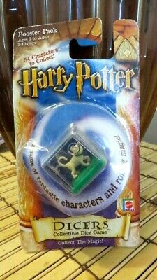 RARE 2002 Harry Potter Vintage Dicers Dice Game Booster Pack Mrs. Norris Cat WB