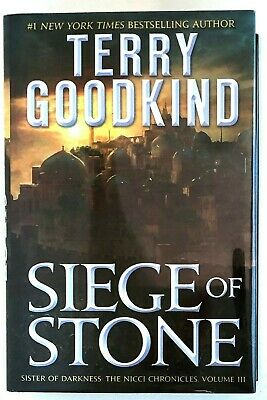 Siege of Stone: Sister of Darkness: The Nicci Chronicles III Terry Goodkind LN
