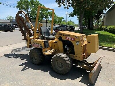 Vermeer 3550 Ride-On Trencher w/ 6 way blade - work ready!