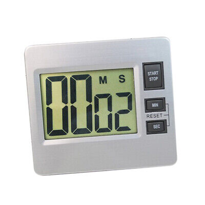 Large LCD Digital Kitchen Cooking Timer Count Down Clock Alarm Stopwatch