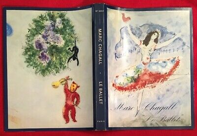Marc Chagall,The Ballet Book Dust Cover, Offset.Lithograph1969, Mourlot,Paris