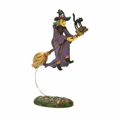 Midnights Last Ride Dept 56 Snow Village Halloween 4025411 accessory witch cat A