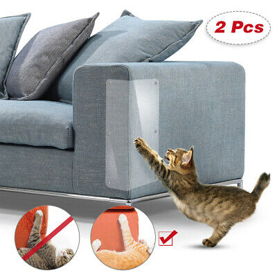 2X Cat Scratching Guard Self-Adhesive Couch Guard for Cat Furniture Protector LI