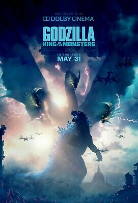 Godzilla King Of the Monsters movie poster (j) - 11 x 17 (2019)