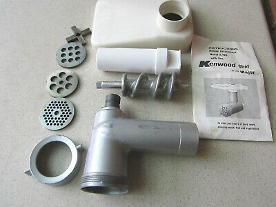 KENWOOD CHEF Mincer attachment A720. 7 Series machines only.