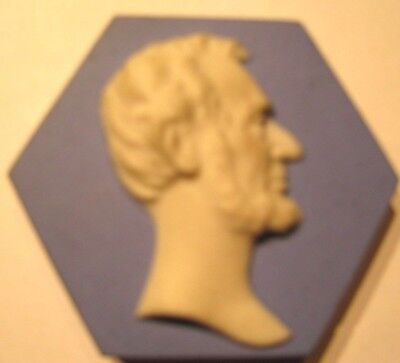 (pgasteelers1) PA.Scottdale Mosaic Tile Co. Zanesville,OH. Bust Abraham Lincoln