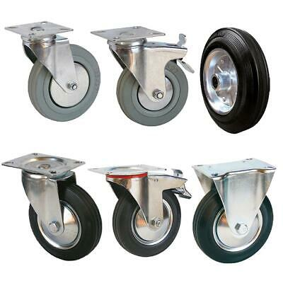 Spare Wheel Transport Div. Mod. Sz. Rollers Solid Rubber Tyres
