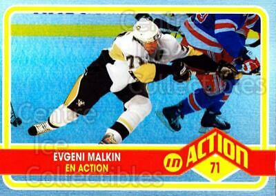 2009-10 O-pee-chee In Action #2 Evgeni Malkin