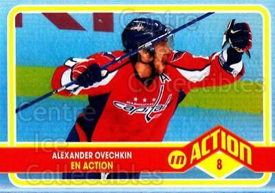 2009-10 O-pee-chee In Action #3 Alexander Ovechkin