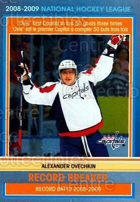 2009-10 O-pee-chee Record Breakers #2 Alexander Ovechkin