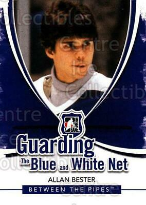 2010-11 Between The Pipes Guarding the Blue and White Net #6 Allan Bester