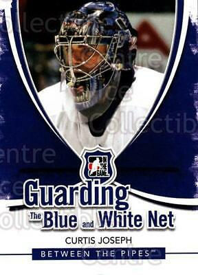 2010-11 Between The Pipes Guarding the Blue and White Net #8 Curtis Joseph