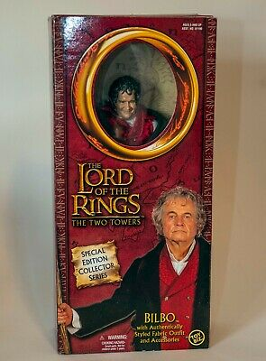 """Bilbo Bolson The Lord of the Rings Special Edition Collector Series 12""""  ToyBiz"""