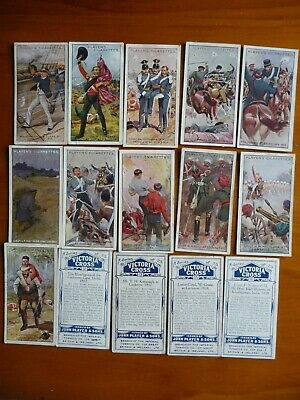 Players cigarette cards Victoria Cross Full set of 25
