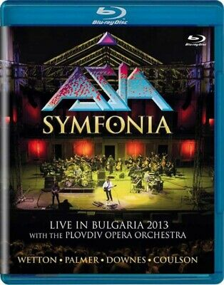 Asia - Symfonia: Live In Bulgaria 2013 - Frontiers FRBR 715 - (Blu-ray Video /