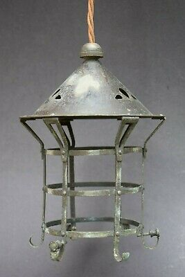 Reclaimed Arts & Crafts Porch Lantern old vintage light lamp hall nouveau house
