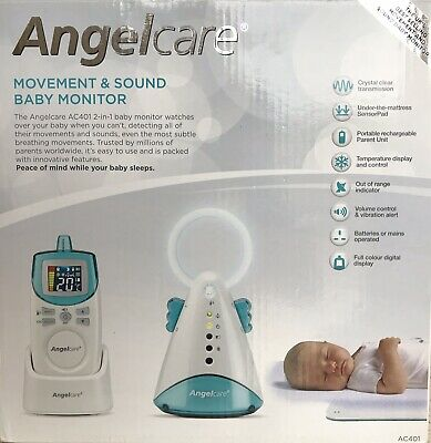 Angelcare AC401 Movement and Sound Baby Monitor *BRAND NEW*