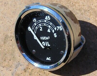 Classic AC Delco Oil Pressure Gauge NOS Vauxhall DAX Kit Car Westfield Tiger MG