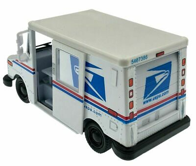 """New USPS LLV 5"""" United States Postal Service U.S. Mail Delivery Truck 1/36 Scale"""