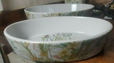 2x Pillivuyt France Molling Casserole Dishes 26 x 19 & 32 x 23 (cm)      Vx95