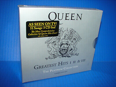 Queen - Platinum Collection: Greatest Hits 1-3 [CD] Boxed Set   ***NEW SEALED***