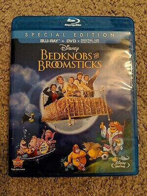 Disney's Bedknobs & Broomsticks Special Edition (Blu-ray + DVD) NO DIGITAL COPY!