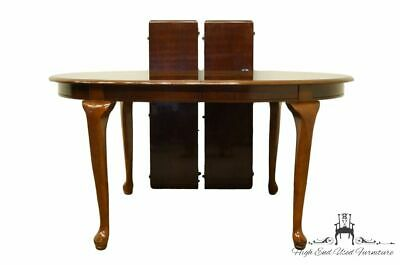 """UNIVERSAL FURNITURE Queen Anne Style 84"""" Oval Dining Table 610-651"""