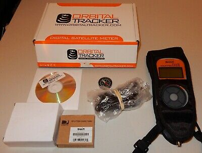 Max Tracker PLUS Satellite Meter FOR DirecTV Orbital Tracker Maxtracker  READ!!