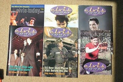 Elvis Today magazines No's 7 - 12 from British fan club