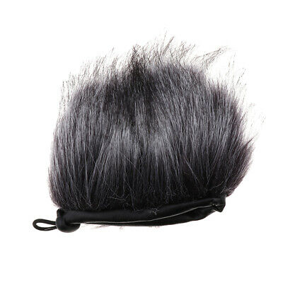 1pc Furry Outdoor Microphone Windscreen Wind Muff for Sony D100 Recorder