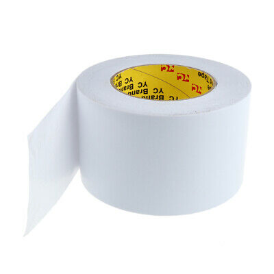 50m Strong Double Stick Tape Double Sided Foam Mounting Tape Width 80mm