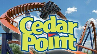 Cedar Point e-tickets - 1 Day General Day Admission (Total of 2 e-tickets)